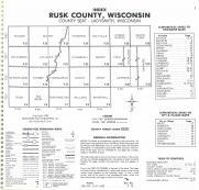 Index Map, Rusk County 1985